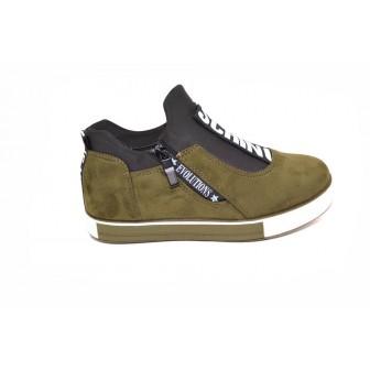 Pantofi casual Schino Green