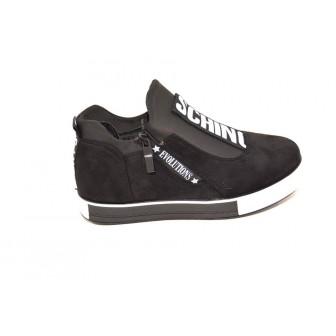 Pantofi casual Schino Black