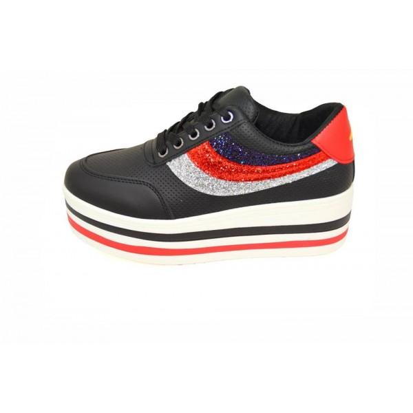 Pantofi casual Tallin 3 Black C-E