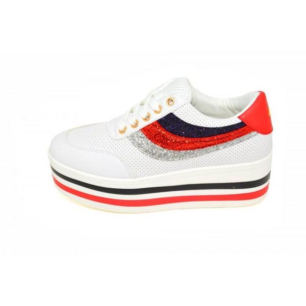 Pantofi casual Tallin 3 White E