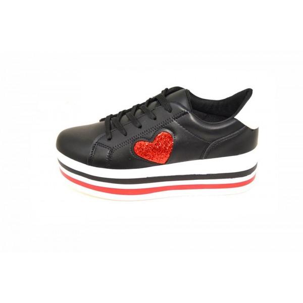 Pantofi casual Tallin Black