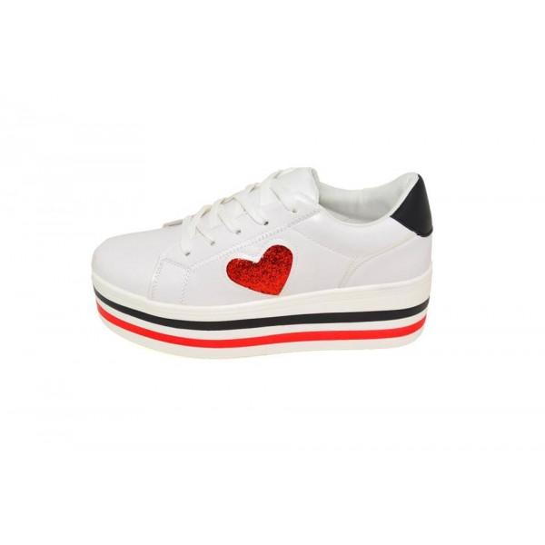 Pantofi casual Tallin White C