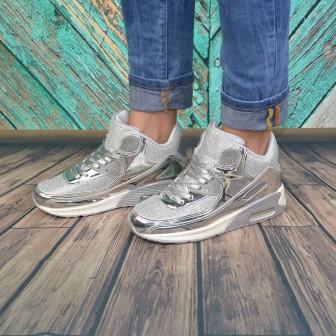 Pantofi casual Lisa Argintiu
