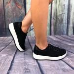 Pantofi casual Fiona Negru